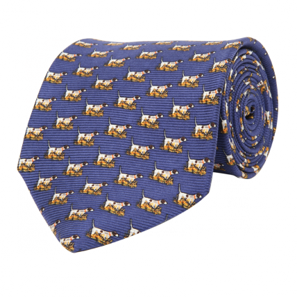 Wm. Lamb & Son - Pointer Tie - Cobalt